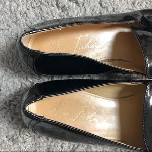 Marc Fisher Shoes - Marc Fisher Black Patent Loafers.